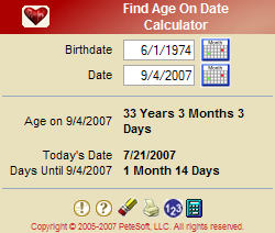 Find Age On Date