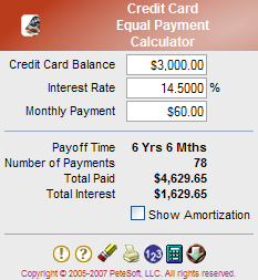 CC Equal Payment