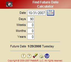 Find Future Date