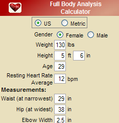 Full Body Analysis