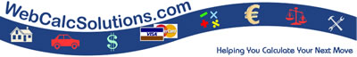 Online Calculators - Financial Calculators, Health Calculators, and Health Assessments from WebCalcSolutions.com